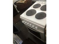 White King home 50cm electric cooker grill & oven good condition with guarantee bargain