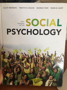 Social Psychology - Fifth Canadian Edition