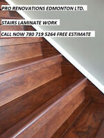 NEED FLOORING INSTALL? LAMINATE FLOOR, HARDWOOD FLOOR,CERAMIC?