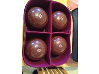 Henselite size 4 medium bowls x4 with accessories