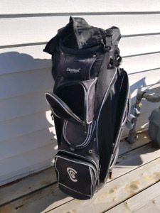 Black Cleveland Golf bag