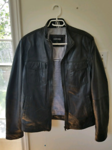 DANIER MEN'S LEATHER JACKET - HIGH QUALITY