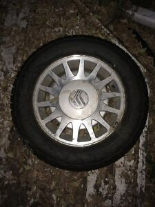 Winter tires with rims x4 for $250