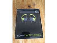Brand new powerbeats2 wireless headphones. Factory sealed quick dispatch