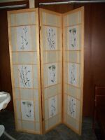 Beautiful Privacy Screen/Room Divider For Sale