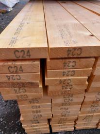 195x45 4.8m C24 timber