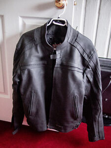 Tour Master Coaster 2 Men's Leather Motorcycle Jacket