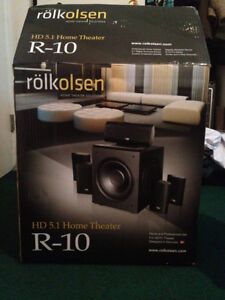 CINEMA MAISON  Rolkolsen R-10 Hd 5.1 Home Theater