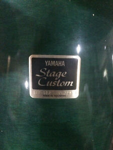 Yamaha Stage Custom 5-piece kit + extras