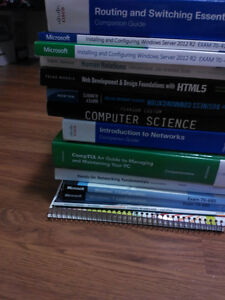 1200$ worth of books for 350$! NBCC IT Network Support / Admin