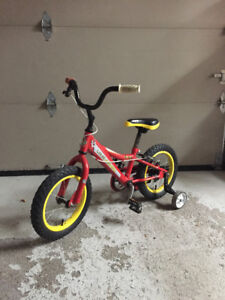 Boy's bike in perfect condition