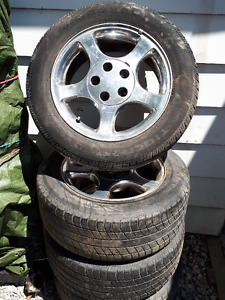 mustang tires and rims 225-55-R16