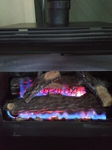 Very clean and well maintained Regency Gas Fireplace Williams Lake Cariboo Area image 1