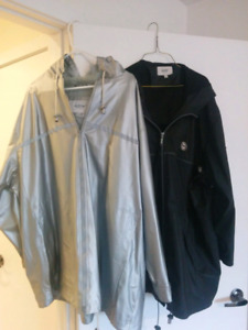 Women's spring/fall jackets size 4x