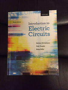 Introduction to Electrical Circuits Textbook Cambridge Kitchener Area image 1