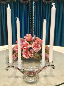 Unity candle set with 4 NEW long candles