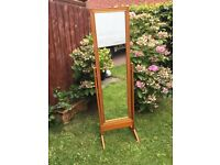 Cheval pine mirror