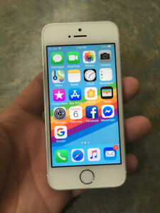 Iphone 5se. 16gb. Colour silver. Unlock. Excellent condition