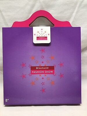 AMERICAN GIRL Fashion Show Paper Doll Play Set. New.