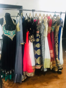 Indian suits, sareen, lengths and dresses