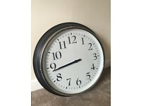 Large IKEA BRAVUR wall clock.