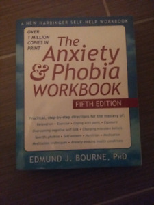New Anxiety and Phobia workbook