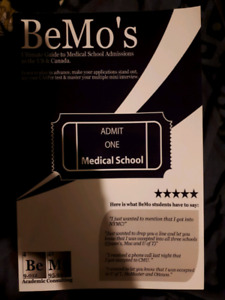Bemo's guide to medical school admissions