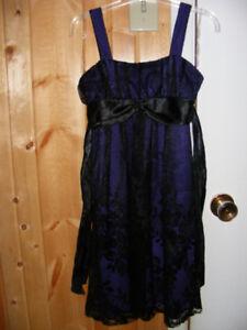 robe et manteau fille 8-10 ans