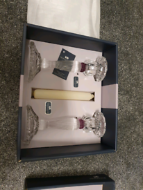 Newgrange Living candlesticks