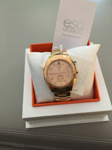 ESQ Movado Ladies Watch (Rose Gold)