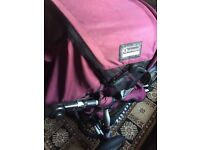 Quinny Freestyle Pushchair (nearly new)
