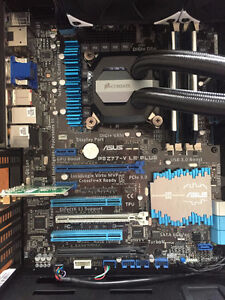 Gaming PC(CPU,MB,RAM,WIFI,FANS) Delided i5 3570k@4.6GHz!