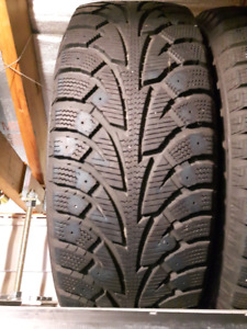 Snow Tires on rims 185/60R15 88T