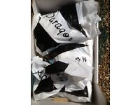 Carrier Bags - 200 Qty Black print on White