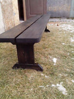 benches made by joe