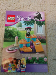 Lego Friends Pet Cat set, like new condition, $10