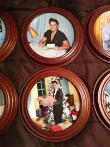 Elvis Presley - Looking At A Legend Collector Plates Kitchener / Waterloo Kitchener Area image 6