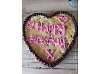 Personalised Giant Cookies and delicious cakes