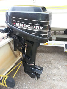EXCELLENT CONDITION 9.9 MERCURY OUTBOARD WITH TANK