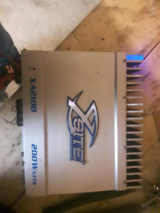 200 watt rms 2 channel amplifier