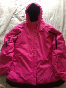 Girls Columbia omni heat winter jacket