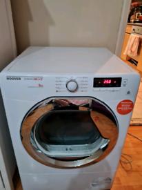 Hoover tumble dryer condenser 9kg capacity white 60cm
