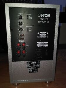 Canton subwoofer AS 85.2 sc