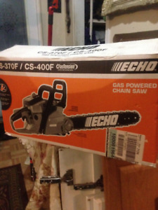 brand new never used echo gas chainsaw cs-370f