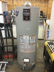 2 - 50 gallon propane or natural gas hot water heaters for sale