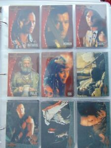 Scorpion King movie cards set incomplet 58/72