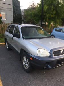 2003 Hyundai Santa Fe V6 • AUBAINE