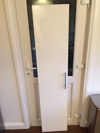 Ikea high gloss white door for sale
