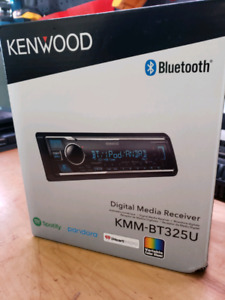 Kenwood KMM-BT325U CAR MEDIA PLAYER