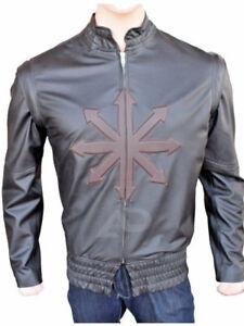 Mens Celebrity New Fashion Classic Designer Black Leather Jacket